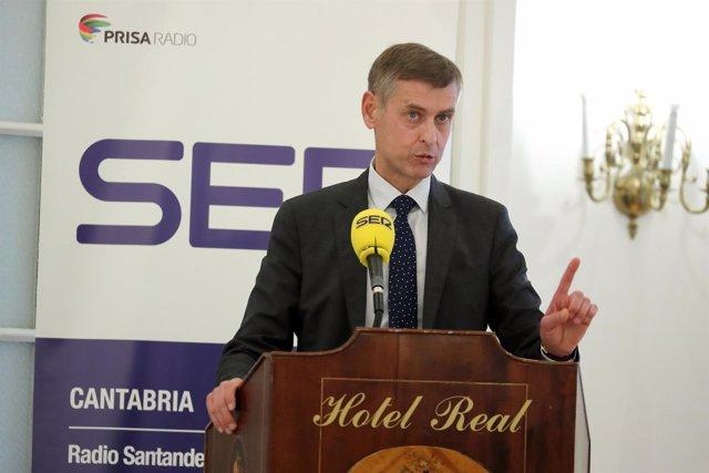 José Luis López del Moral, presidente del TSJC