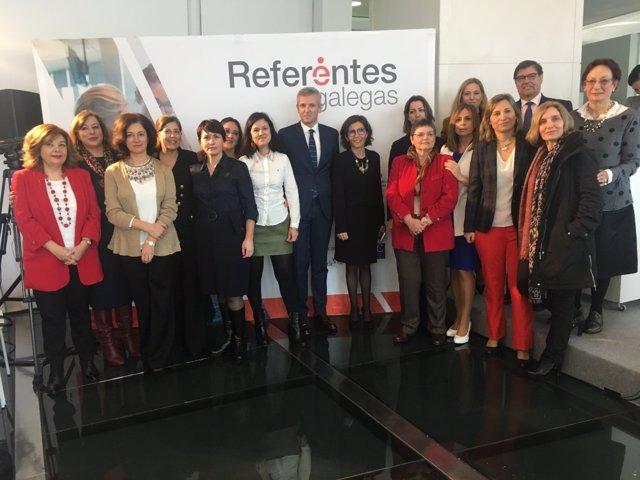 Presentación del directorio 'Referentes Galegas'