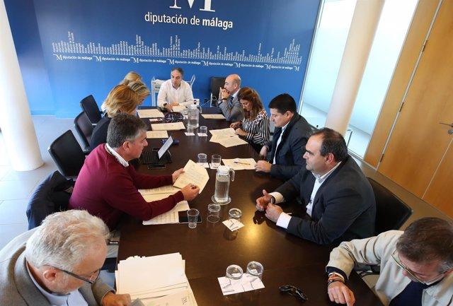 Reunión de junta de gobierno de Diputación