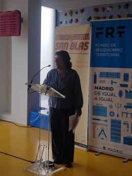 Concejala-presidenta de San Blas-Canillejas, Marta Gómez Lahoz,