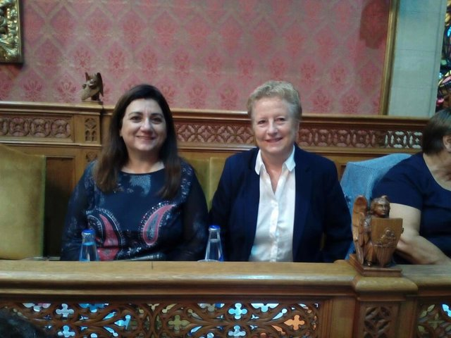 Catalina Serra y Cristina Fiol, conselleras insulares de Cs