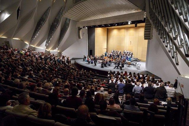 Concierto participativo en el Auditorio de Tenerife