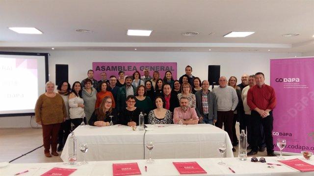 Asamblea general de Codapa
