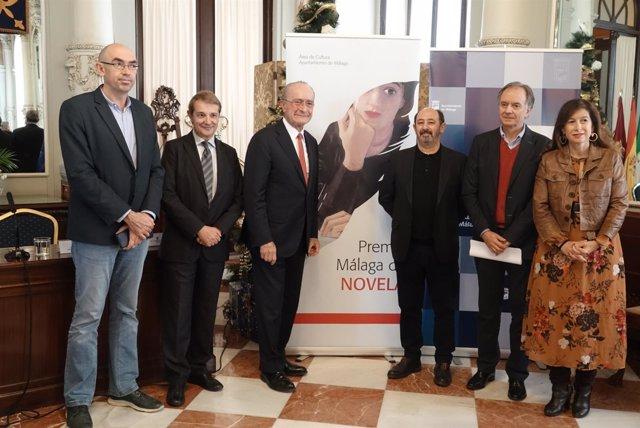 Entrega de Premio Málaga de Novela
