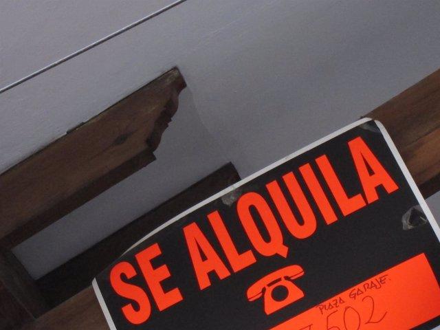 Se Alquila, Alquiler, cartel
