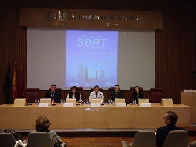 Inauguración del IV curso de SBRTm