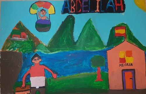 """""""Mi Lugar Perfecto"""", Un Dibujo De Abdelilah,17, Marruecos"""