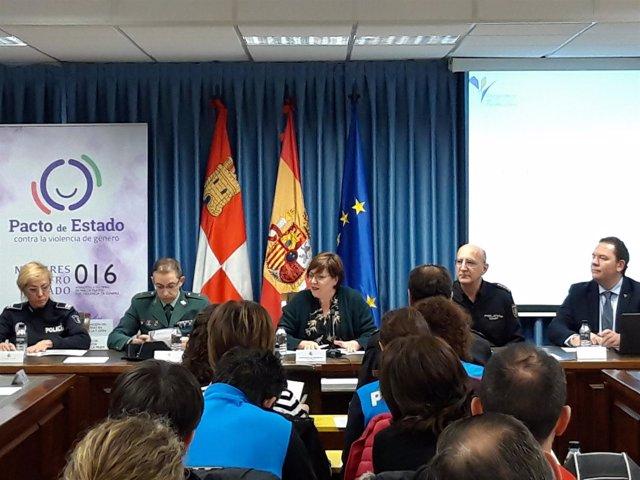 Valladolid.- Jornada 'Violencia de género y empatía policial' 17-12-18