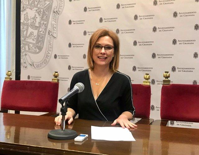 La concejal de Ciudadanos Mar Sánchez