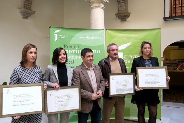 Entrega de los Premios de Periodismo y Comunicación Local 2018.