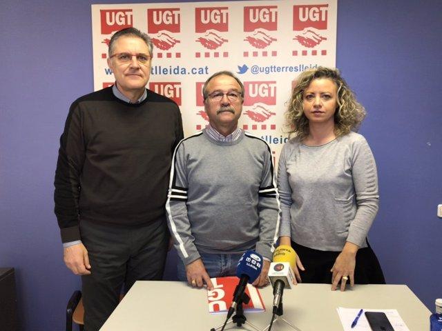 Josep Lluis Aguilà, Antonio Rodríguez y Alicia Buil