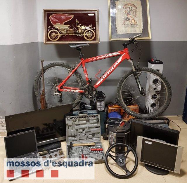 Objetos robados en Alguaire