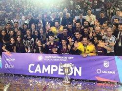 El Barça Lassa guanya la seva cinquena Copa Intercontinental (RFEP)