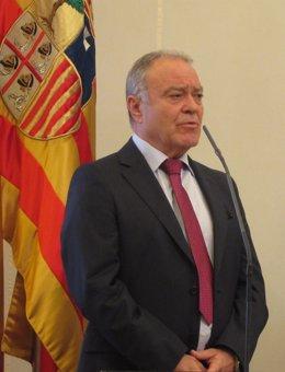 El presidente de la Diputación de Huesca (DPH), Miguel Gracia