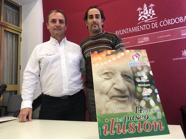 Hidalgo (dcha.) y Ruano presentan el 'Paseo de la Ilusión'