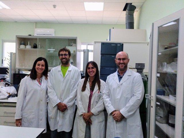Grupo 'Investigación químico analítica en agroalimentación' de la UCA