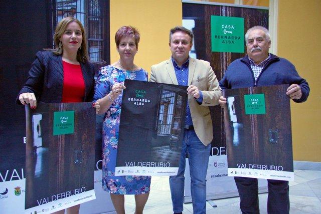 Presentación de la Casa de Bernarda Alba como espacio turístico-cultural