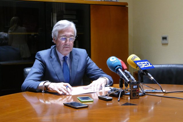El alcalde de Ávila, José Luis Rivas. 17-12-18