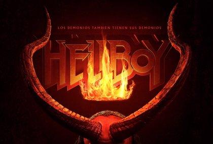 Antes del primer tráiler, Hellboy presume de cornamenta en su nuevo póster