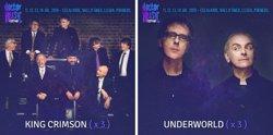 King Crimson i Underworld oferiran tres concerts al Doctor Music Festival (DOCTOR MUSIC FESTIVAL)