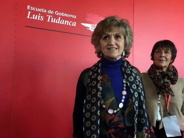 Salamanca.- Carcedo, durante su participación en la Escuela de Gobierno