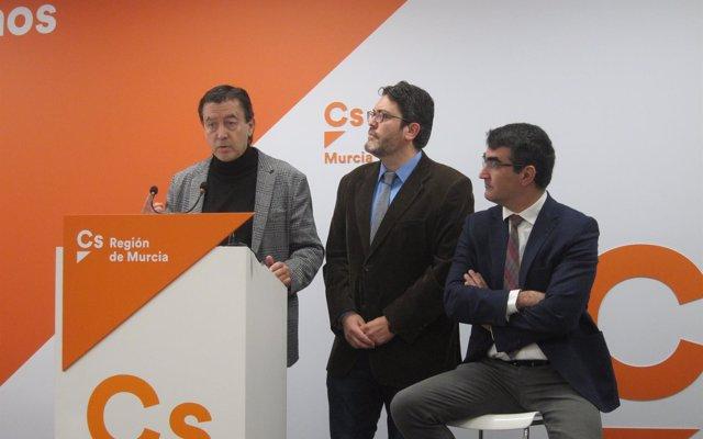Juan José Molina (Cs) no descarta presentarse a las primarias para concurrir a la Presidencia de la Comunidad