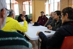 Un desena de persones comencen un dejuni a Celrà en solidaritat amb els presos independentistes en vaga de fam (ACN)