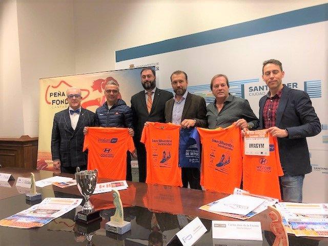 Presentación de la San Silvestre de Santander 2018
