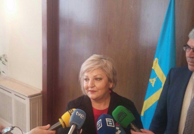 Carmen Balfagón, directora general del Instituto de Mayores y Servicios Sociales