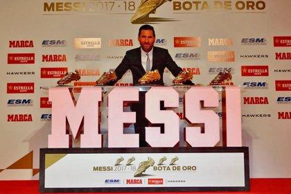 """Messi recibe su quinta Bota de Oro: """"Amo el fútbol, pero nunca imaginé tanto"""""""