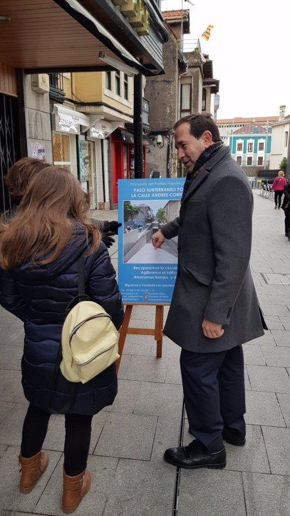 El PP de Getxo propone soterrar la calle Andrés Cortina para solucionar el problema de circulación de dicha zona