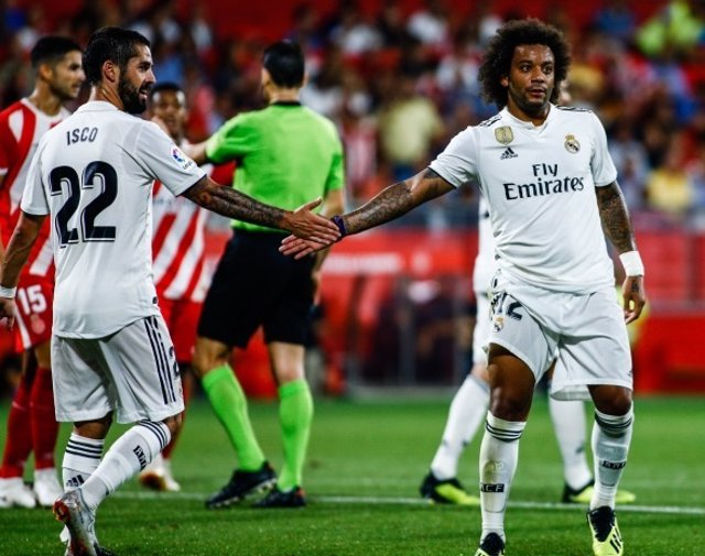 Marcelo Isco Real Madrid