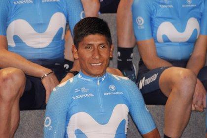 """Nairo Quintana: """"Me viene bastante bien que estén más claros los objetivos de cada uno"""""""