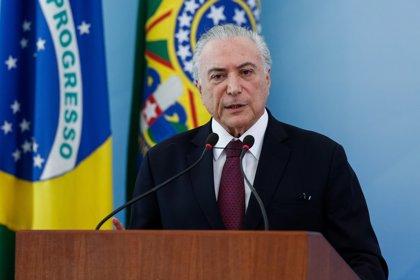 Temer es optimista sobre el acuerdo comercial entre el Mercosur y la UE