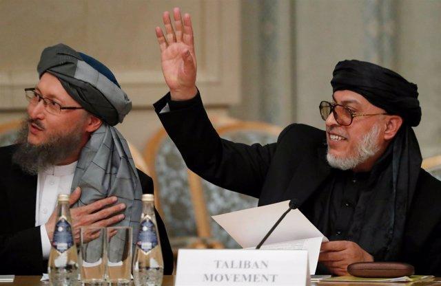 El jefe del consejo político talibán en Qatar, Mohammad Abbas Stanakzai