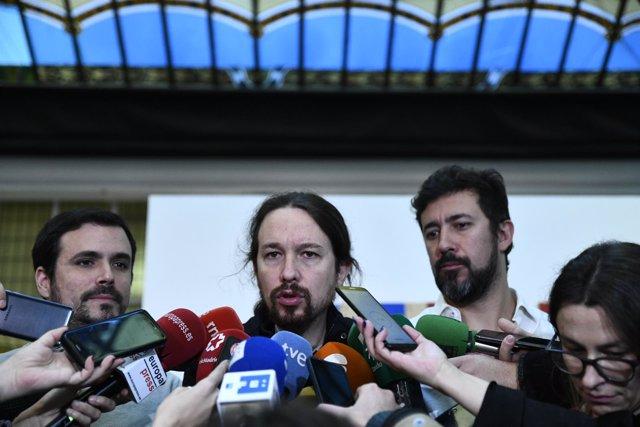 """Podemos reúne a su """"gobierno en la sombra"""" en el llamado espacio"""" Rumbo 2020"""" pa"""