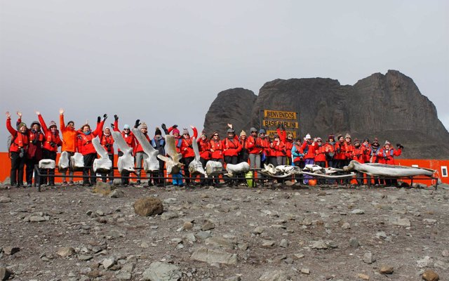 Christiana Figueres se une a la expedición de 79 científicas que partirán a la Antártida el 31 de diciembre