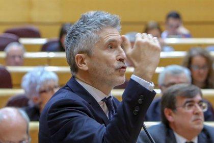 """Marlaska ve déficit de sanitarios en prisiones pero apunta que """"solución definitiva"""" es traspasar competencias a CCAA"""