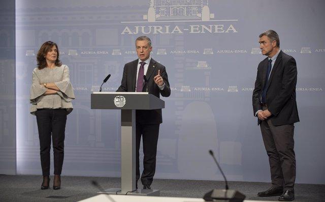 Gobierno vasco suspende 'de forma cautelar' la RGI al presunto yihadista detenido en Vitoria