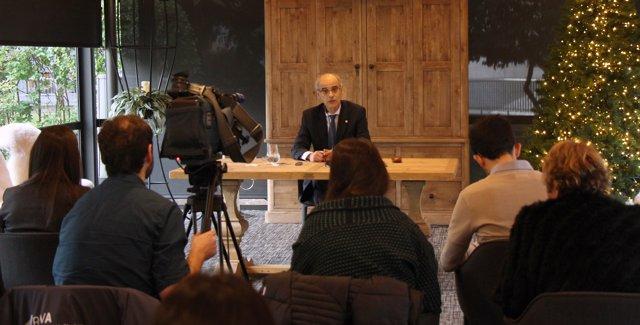 Toni Martí, cap de Govern d'Andorra