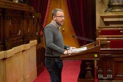 Picabaralla entre el PSC i la CUP per les pintades d'Arran contra seus socialistes (David Zorrakino - Europa Press)