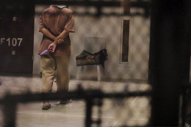 Preso en la cárcel de Guantánamo
