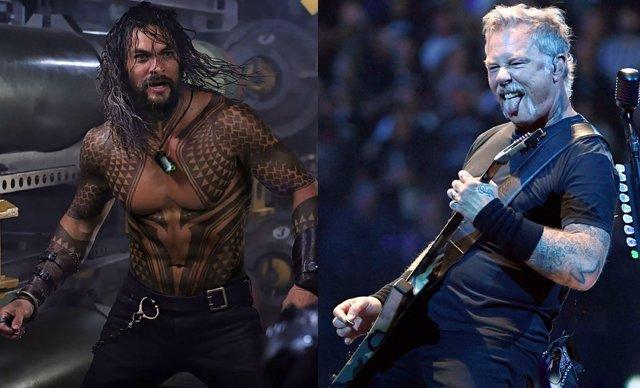 Metallica, inspiración de Aquaman