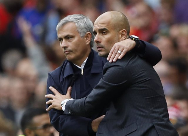 Mourinho y Guardiola, United y City