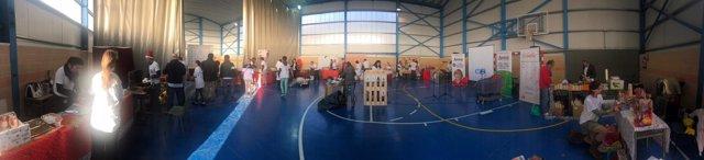 Empleados de Roche Farma forman a alumnos del colegio Areteia