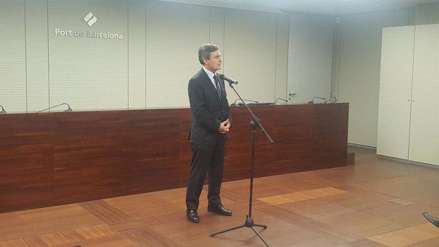 El secretario de Estado de Infraestructuras, Pedro Saura
