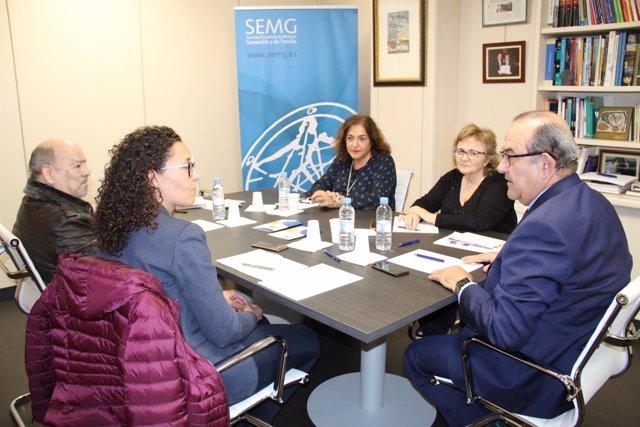 Reunión SEMG y FEASAN para colaborar en anticoagulación