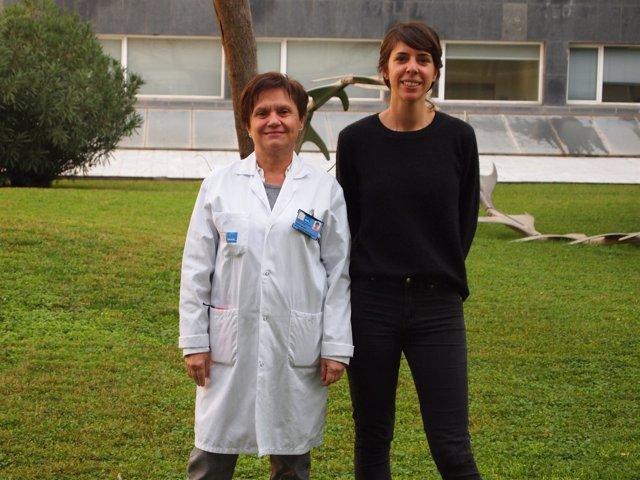 De izquierda a derecha, Marta Torrens y Judith Tirado