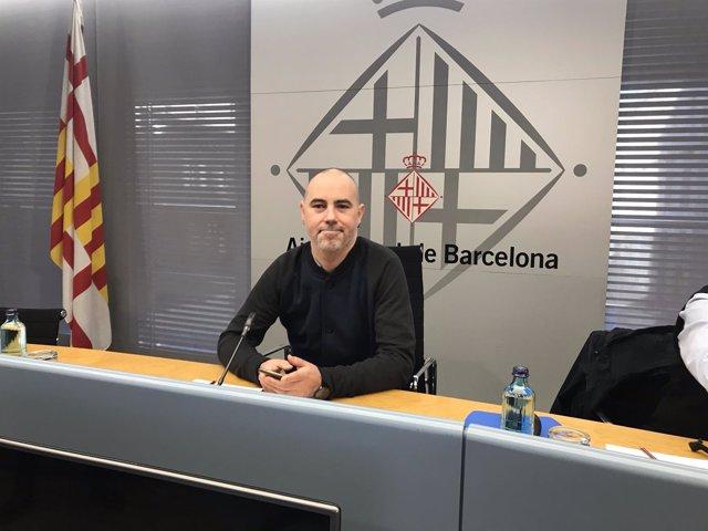 El concejal de Presidencia de Barcelona, Eloi Badia