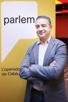 El presidente y consejero delegado de Parlem, Ernest Pérez-Mas.